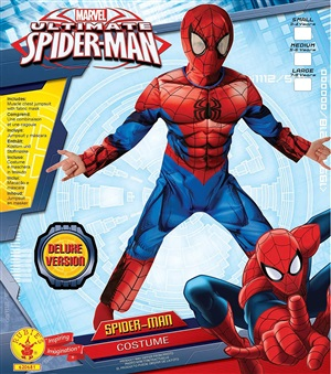 Kostyum Spiderman deluxe